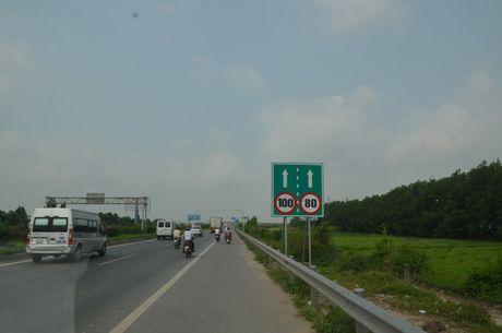 Chinh thuc giam toc tren QL1, doan Ha Noi – Bac Giang - Anh 1