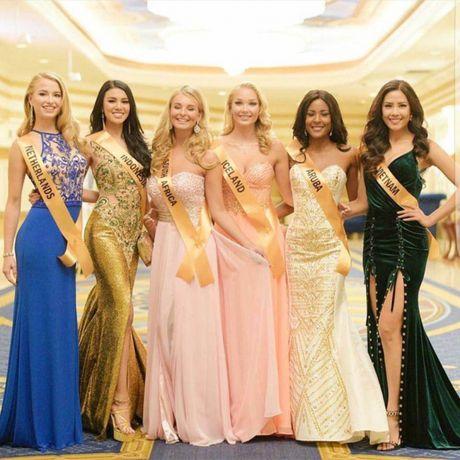 Nguyen Thi Loan tiet lo ve doi thu tai Miss Grand International 2016 - Anh 3