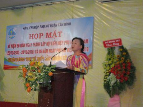 Hoi LHPN Q.Tan Binh ky niem 86 nam ngay thanh lap Hoi va 6 nam Ngay PN Viet Nam - Anh 2