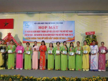 Hoi LHPN Q.Tan Binh ky niem 86 nam ngay thanh lap Hoi va 6 nam Ngay PN Viet Nam - Anh 4