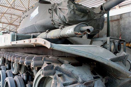 Xe tang M41 do bo doi ta lai ban chay 7 xe thiet giap M113 cua dich - Anh 2