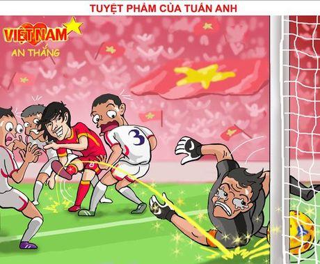 Biem hoa 24h: Sieu pham cua Xuan Truong, Tuan Anh khien doi thu om han - Anh 2