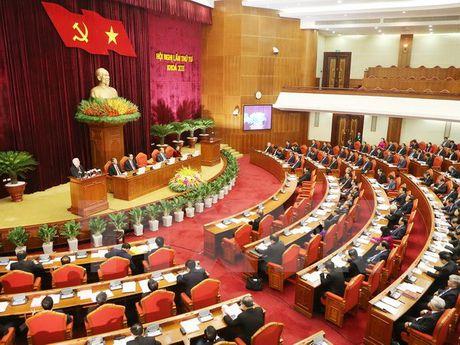 Ngay lam viec thu 4 Hoi nghi lan thu tu Ban Chap hanh TW Dang khoa XII - Anh 1