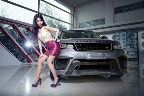 Chan dai khoe vong 1 cang tron ben xe sang - Anh 3