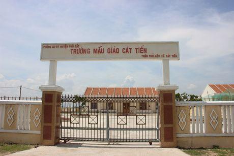 Binh Dinh: Co moc um o khu tai dinh cu, dan xot tung met dat - Anh 2