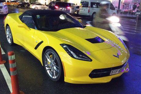 Sieu xe Chevrolet Corvette C7 Stingray gia 5 ty tai VN - Anh 1