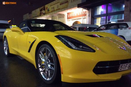 Sieu xe Chevrolet Corvette C7 Stingray gia 5 ty tai VN - Anh 5