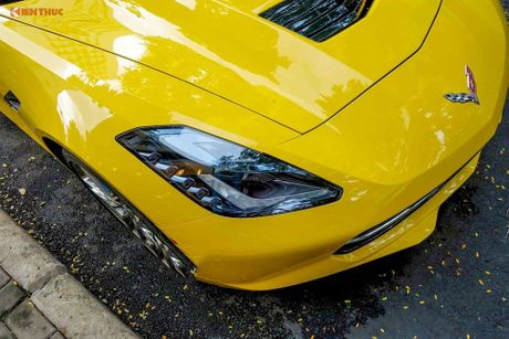 Sieu xe Chevrolet Corvette C7 Stingray gia 5 ty tai VN - Anh 6