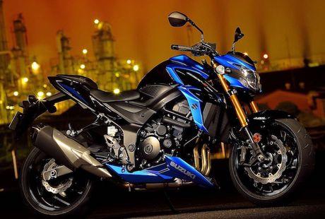 Suzuki ra mat moto GSX-S750 'dau' voi Kawasaki Z800 - Anh 1