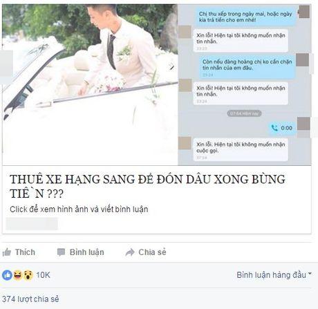 Dam cuoi Ha thanh nha trai thue xe don dau roi 'bung' tien? - Anh 1