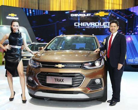 Chevrolet Trax 2017 ra mat Viet Nam voi gia 769 trieu dong - Anh 1