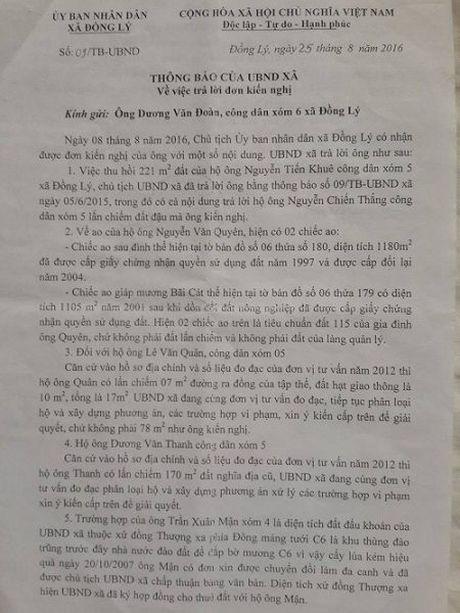 Ly Nhan (Ha Nam): Can giai quyet dut diem kien nghi cua nguoi dan! - Anh 2