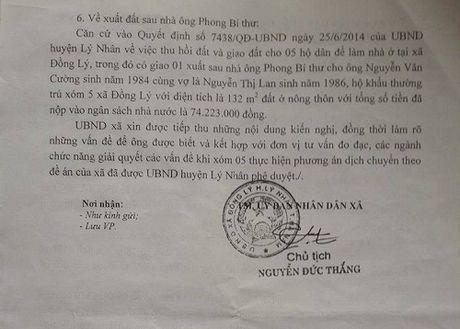 Ly Nhan (Ha Nam): Can giai quyet dut diem kien nghi cua nguoi dan! - Anh 3