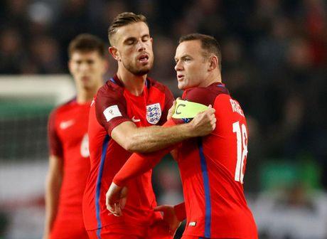 Loai Rooney, tuyen Anh van bi Slovenia cam hoa - Anh 1