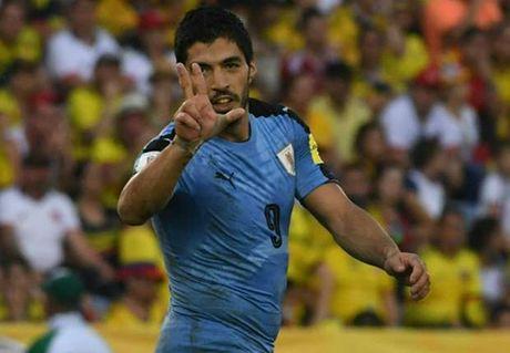 Suarez can bang ky luc cua Crespo o vong loai World Cup - Anh 1