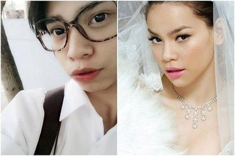 Chang trai 'gay sot' vi qua giong Ha Ho - Anh 2