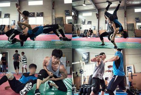 'Ngat' voi man khoe body cua ji Chang Wook trong drama 'The K2' - Anh 11