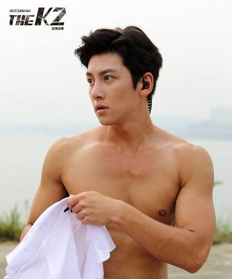 'Ngat' voi man khoe body cua ji Chang Wook trong drama 'The K2' - Anh 12