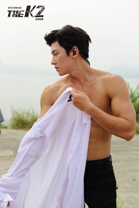 'Ngat' voi man khoe body cua ji Chang Wook trong drama 'The K2' - Anh 6