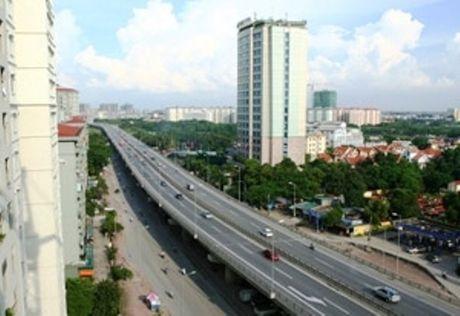 Ha Noi: Xay duong bo tren cao tu cau Vinh Tuy den Nga Tu So - Anh 1