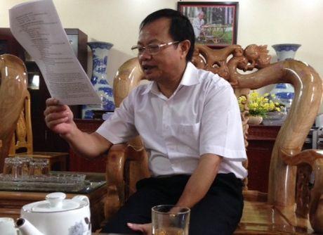 Khai tru Dang Truong Cong an thi tran vi quan he bat chinh va dung bang gia - Anh 1