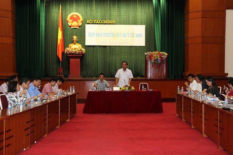 Thu ngan sach 9 thang nam 2016 dat 70,8% du toan - Anh 1