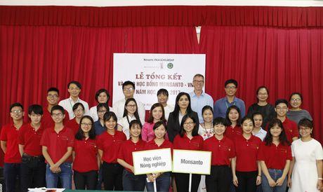 Hoc bong Monsanto - VNUA: Chap canh uoc mo sinh vien nong nghiep - Anh 10