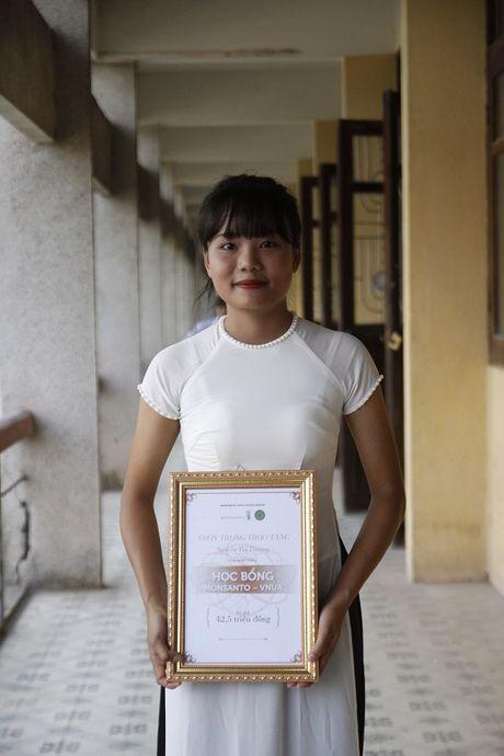 Hoc bong Monsanto - VNUA: Chap canh uoc mo sinh vien nong nghiep - Anh 4