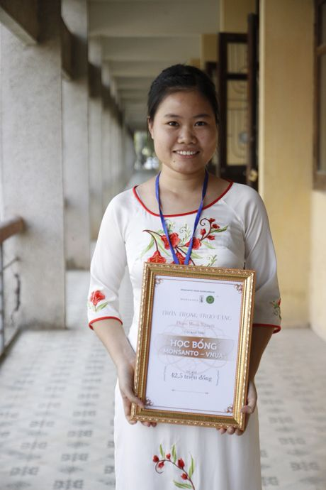 Hoc bong Monsanto - VNUA: Chap canh uoc mo sinh vien nong nghiep - Anh 5