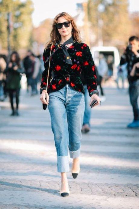 Street Style Paris Fashion Week 2017 - dinh cao cua su don gian - Anh 5
