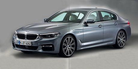 Cong bo hinh anh chinh thuc cua BMW 5 Series 2017 - Anh 1