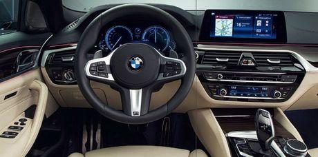 Cong bo hinh anh chinh thuc cua BMW 5 Series 2017 - Anh 2