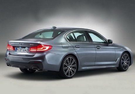 Cong bo hinh anh chinh thuc cua BMW 5 Series 2017 - Anh 3