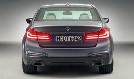 Cong bo hinh anh chinh thuc cua BMW 5 Series 2017 - Anh 4