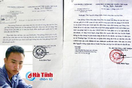 Phat hanh chinh tho ho gia mao cong van Chinh phu - Anh 1