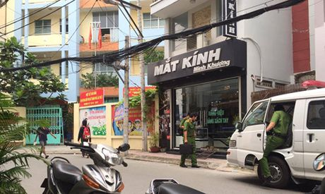 Nghi no sung tai tru so uy ban phuong, 1 nguoi tu vong - Anh 1