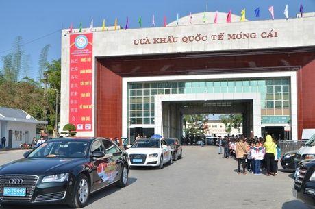 Tu ngay 1/1/2017 mo cua khau Mong Cai cho du khach Trung Quoc tu lai o to sang Viet Nam Du lich - Anh 2