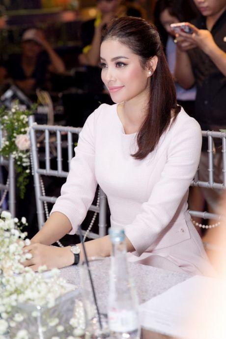 Pham Huong, Dam Vinh Hung, Thanh Loc lam giam khao cuoc thi Perfect Beauty - Anh 12