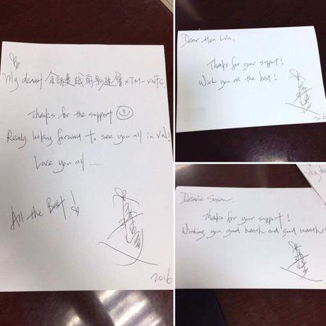 Tam ly het muc, Ly Nha Ky dich than xin chu ky Xa Thi Man de tang fan Viet - Anh 2