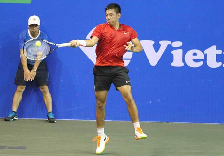 Hoang Nam gap hat giong so 8 tai vong 2 Viet Nam Open - Anh 2