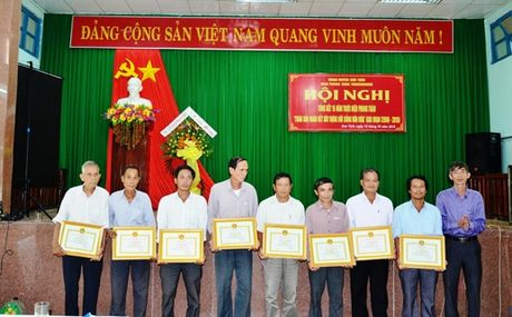 Son Tinh (Quang Ngai): 20.800 ho dat 'Gia dinh van hoa' - Anh 1