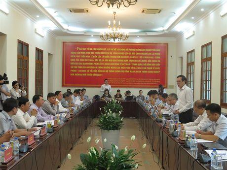 Khoa hoc va Cong nghe la don bay phat trien TP Hai Phong - Anh 1