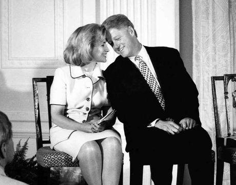 Hon nhan song gio hon 4 thap ky cua vo chong Clinton - Anh 1