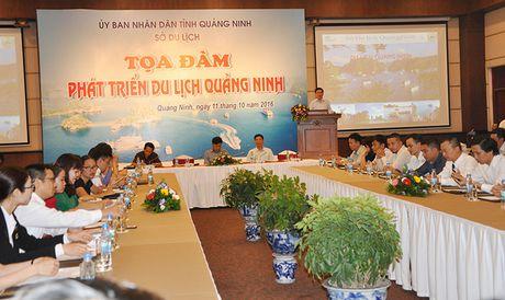 Quang Ninh to chuc toa dam phat trien du lich - Anh 1