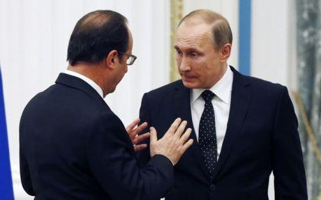 Bat dong ve Syria, Tong thong Putin tu choi gap mat ong Hollande - Anh 1