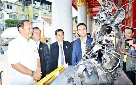 Phat giao Thai Lan them da sac boi su lan toa tri tue Thich Quang Duc - Anh 2