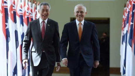 Australia-Singapore thuc day quan he doi tac chien luoc toan dien - Anh 1