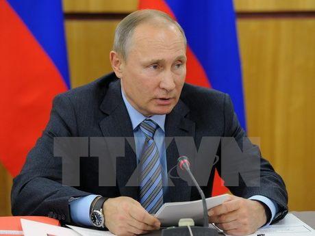 Tong thong Putin: An Do la doi tac chien luoc uu tien dac biet - Anh 1
