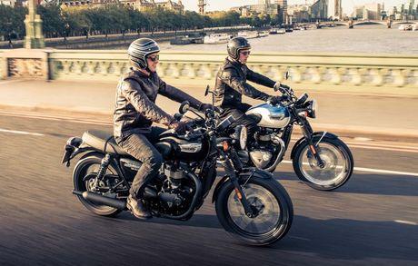 Triumph Bonneville T100 va T100 Black moi trinh lang - Anh 1