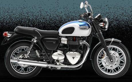 Triumph Bonneville T100 va T100 Black moi trinh lang - Anh 2